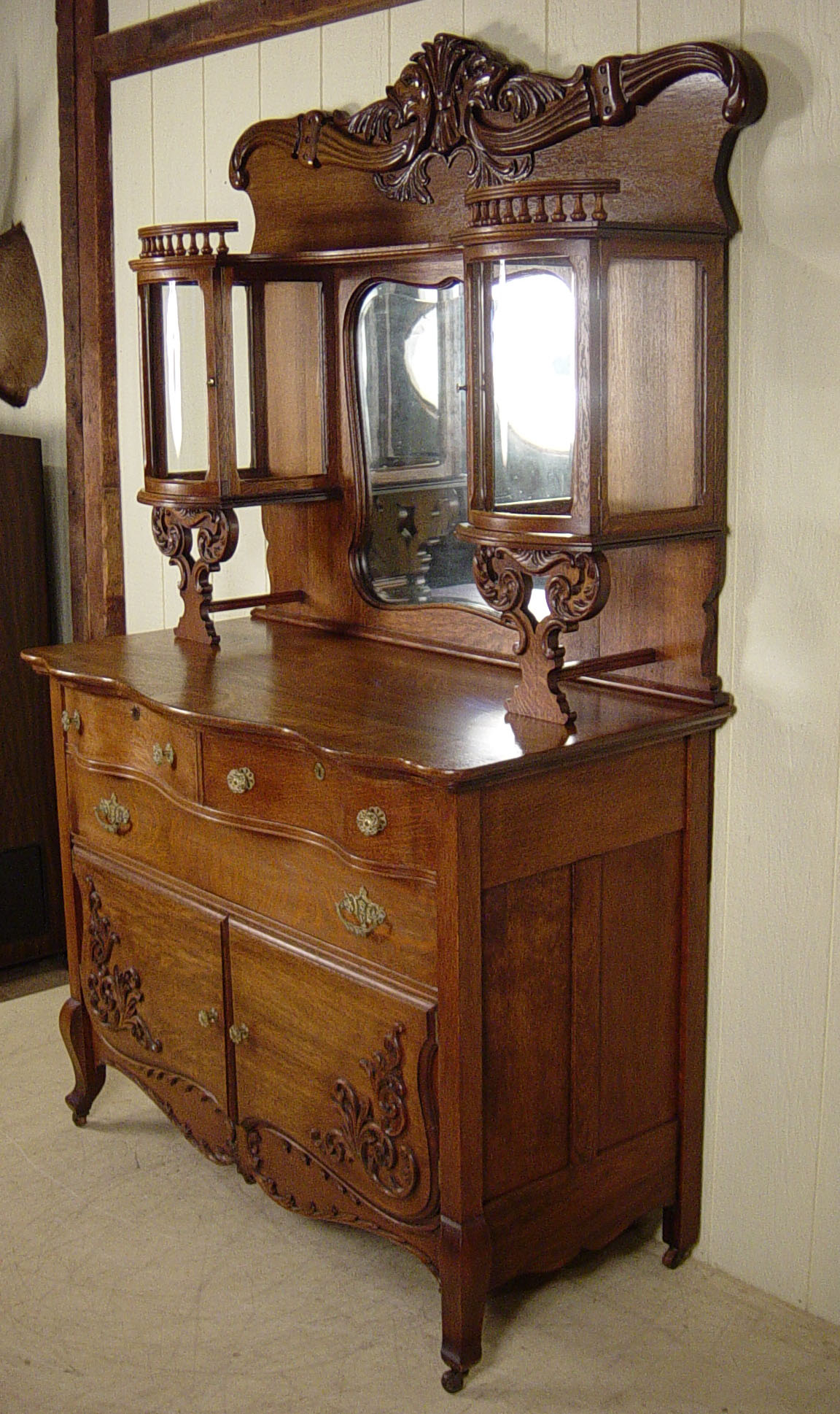 Oak Sideboard With Double Curio Cabinet Top Iphone Wallpapers Free Beautiful  HD Wallpapers, Images Over 1000+ [getprihce.gq]