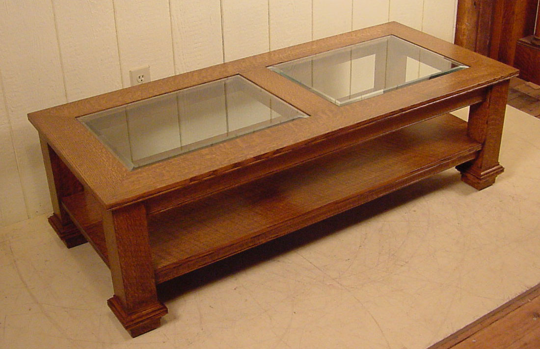 Wood coffee table with glass insert 28 images for Kitchen table with glass insert