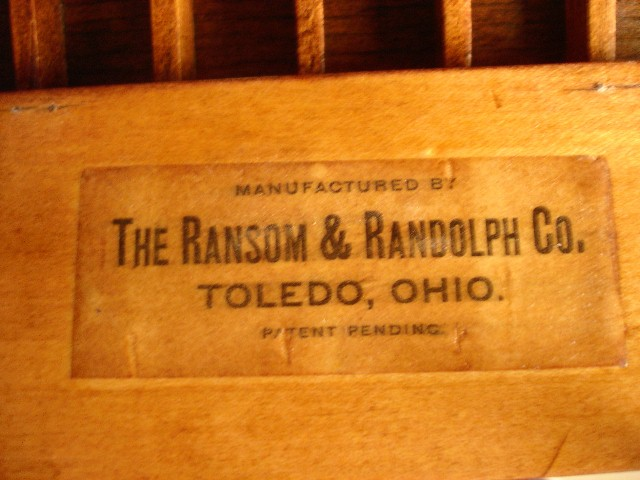 The Quot Top Of The Line Quot Mahogany Ransom Amp Randolph Dental