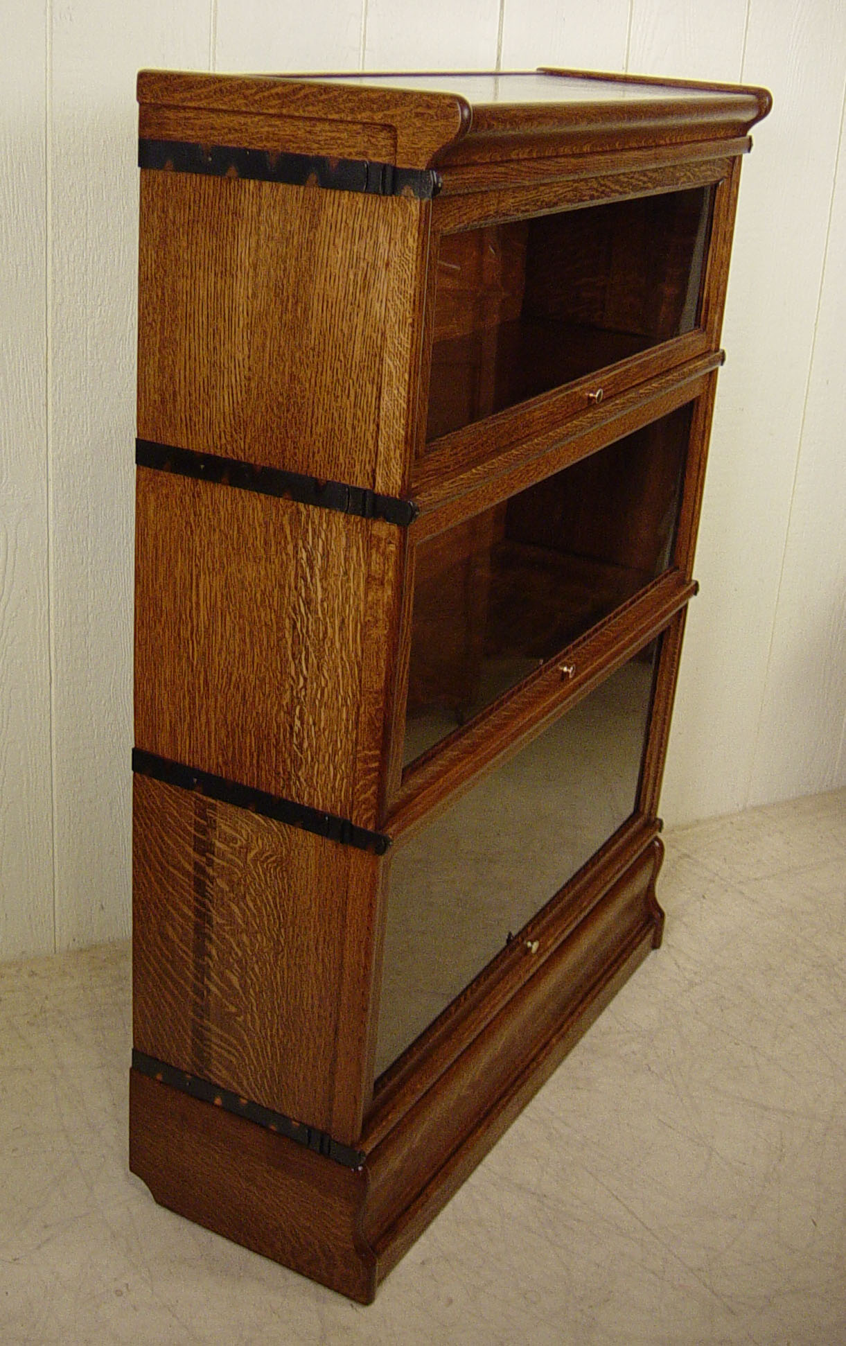 #693A16 Macey 3 Section Stacking Oak Bookcase with 1221x1942 px of Recommended 20 Inch Deep Bookcase 19421221 save image @ avoidforclosure.info