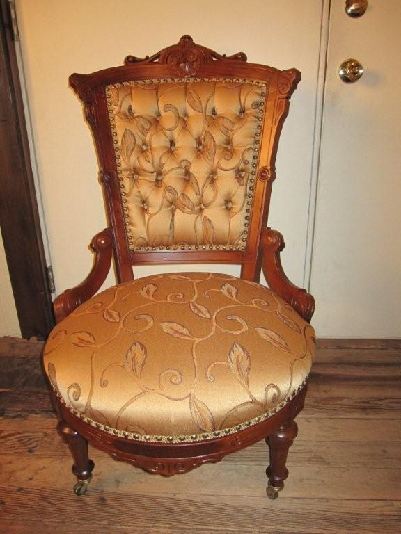 Victorian Walnut Matching Gentleman S Amp Ladies Chairs